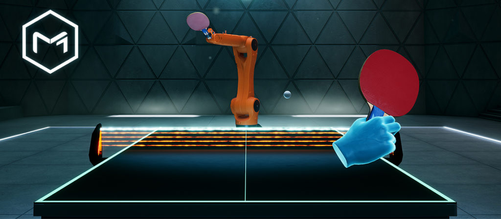 Table tennis in MATERIA.ONE
