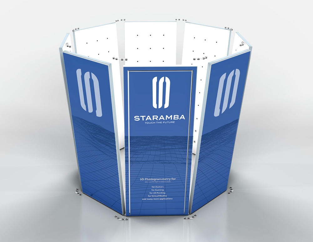 Our scanning system 3D INSTAGRAPH - Staramba